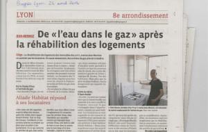 Lyon – De l'eau dans le gaz après la réhabilitation