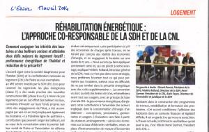 Isère – L'approche co-responsable de la SDH et de la CNL