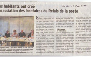 Haute-Savoie – Bienvenue aux locataires du Relais de la poste !