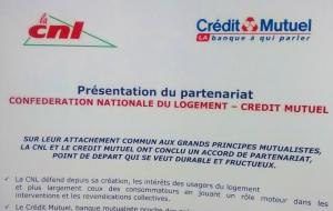 Partenariat CNL – Crédit Mutuel