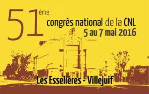 51ème Congrès de la CNL (5-7 mai 2016)