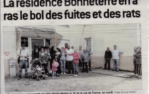 Villeurbanne – Les locataires de la résidence Bonneterre se mobilisent