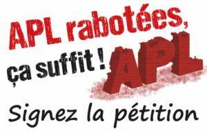 Mobilisation contre le coup de rabot des APL !