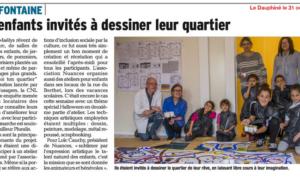 Villefontaine – Les enfants invités à dessiner leur quartier