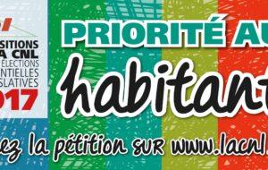 Priorité aux habitants – Les propositions de la CNL pour les élections présidentielles et législatives