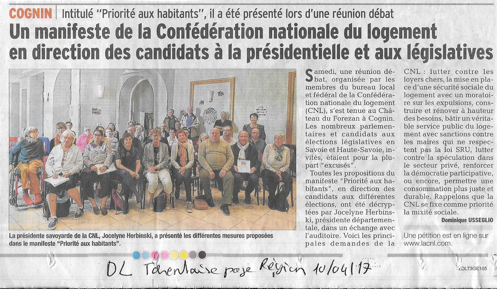 0410_Article DL Tarentaise page Région 10.04.2017
