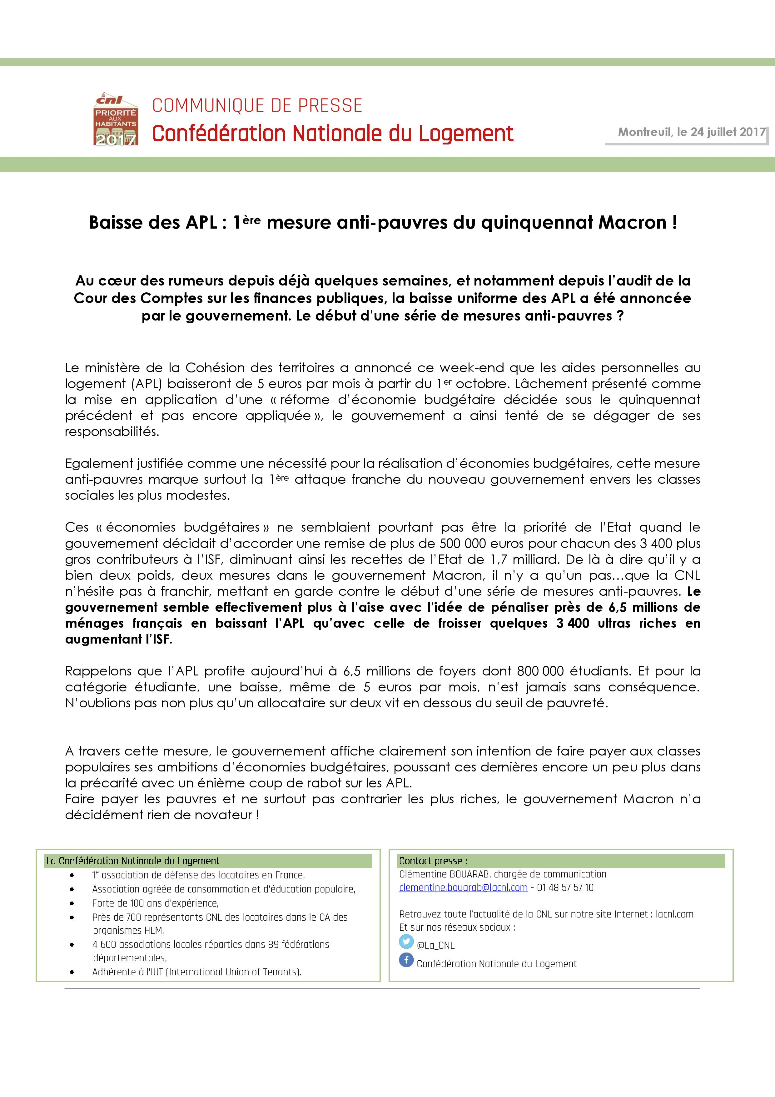 20170724_Baisse des APL - 1ère mesure anti-pauvres du quinquennat Macron-page-001