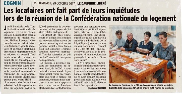 1106_Article DL COGNIN AG CNL COGNIN 29 OCTOBRE 2017