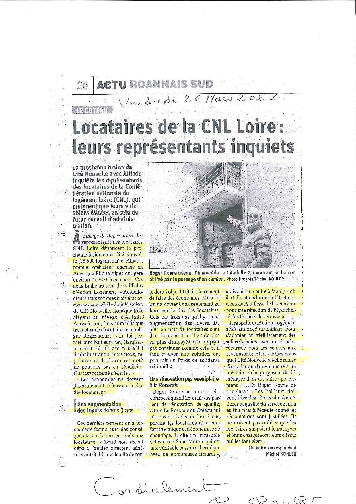 Article fusion ALLIADE et CITE NOUVELLE - FD42 - ROURE-page-001